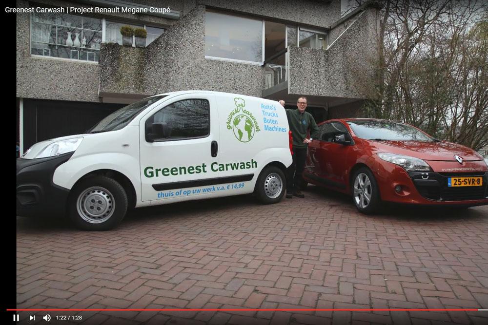 Fotofilmpje: Greenest Carwash Midden Nederland